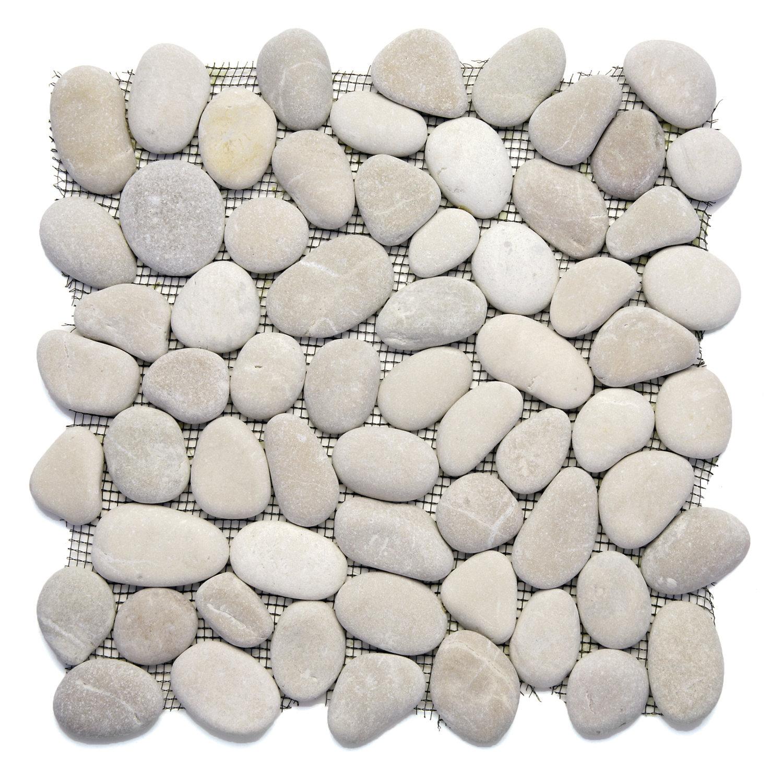 Natural Stone Pebble Mosaic Tile