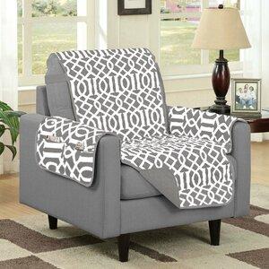 Box Cushion Armchair Slipcover