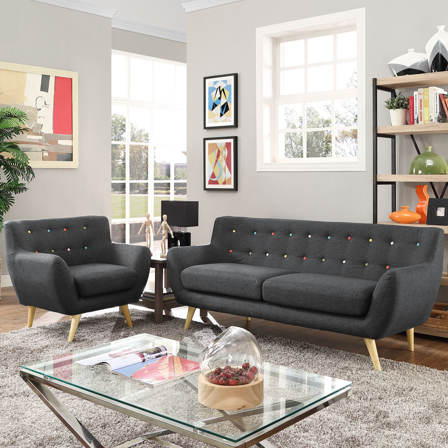 Modern Contemporary Living Room Furniture Allmodern