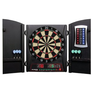 Cricketmaxx 3 Piece 3.0 Electronic Dartboard Cabinet Set by Arachnid