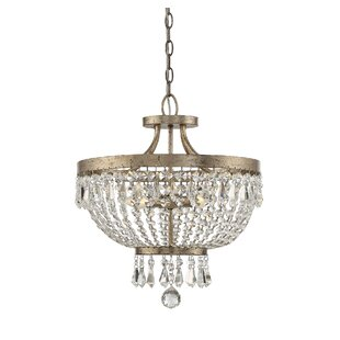House of Hampton Belgrade 4-Light Semi Flush Mount