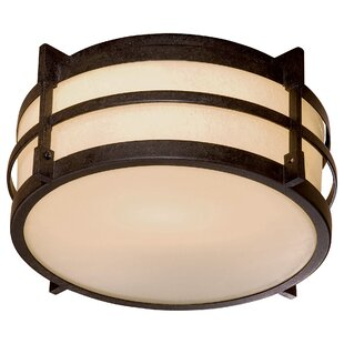 Andrita Court 1-Light Flush Mount by Great Outdoors by Minka