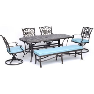 Riaria Traditions 6 Piece Dining Set by Astoria Grand