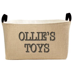 Shop For Personalized Toys Fabric Storage Bin By A Southern Bucket