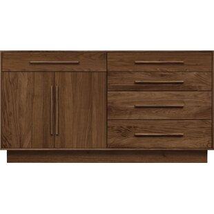 Moduluxe 5 Drawer Combo Dresser