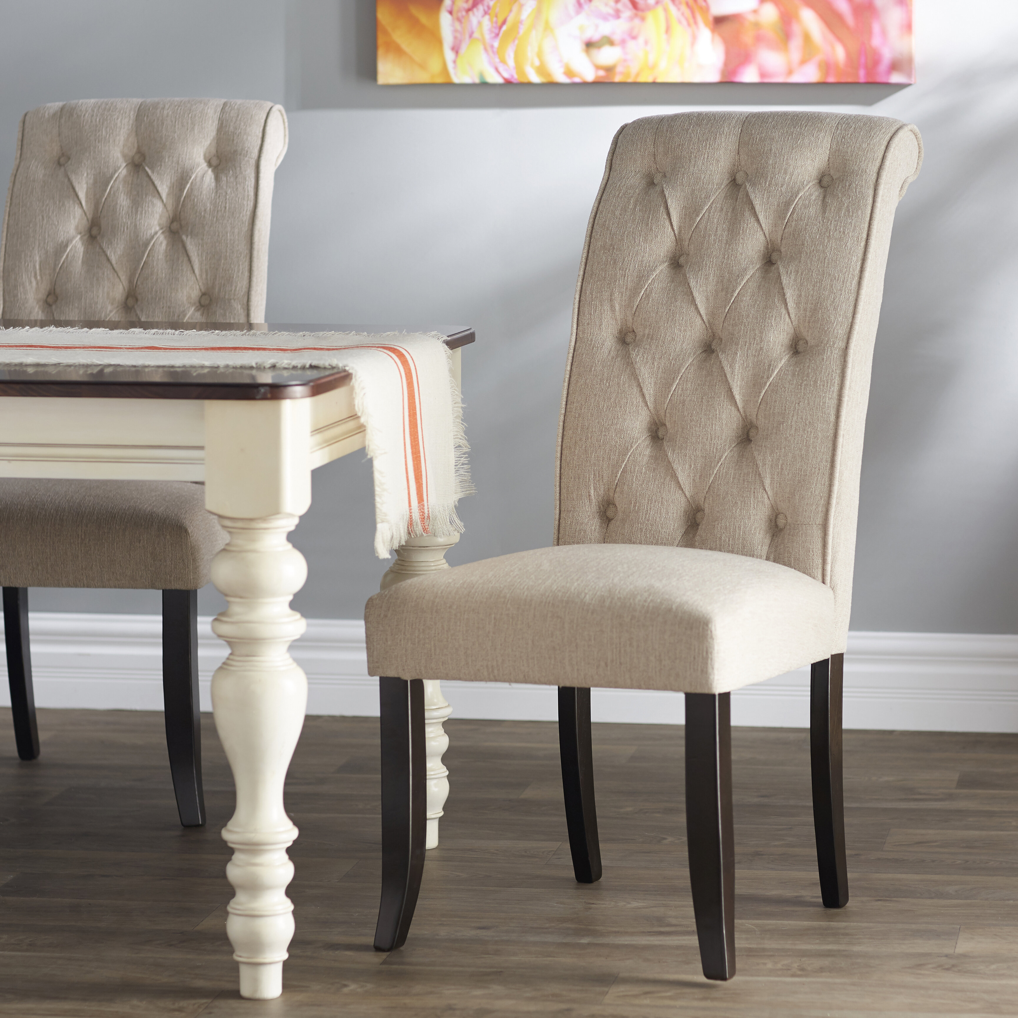 Signature Design By Ashley Carville Tufted Side Chair U0026 Reviews | Wayfair