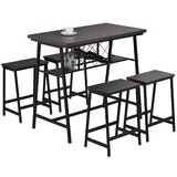 Bagshaw 5 - Piece Counter Height Dining Set by 17 Stories