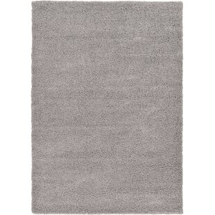 Affordable Lilah Handmade Shag Gray Area Rug By Andover Mills