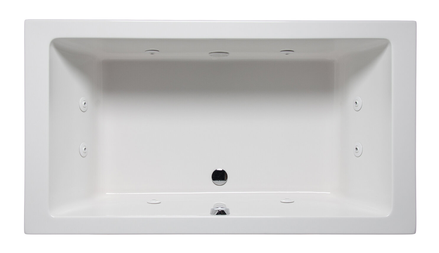 Americh Vivo 72 X 36 Drop In Whirlpool Bathtub Wayfair