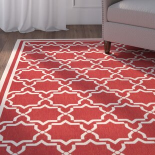 Herefordshire Red Indoor/Outdoor Area Rug