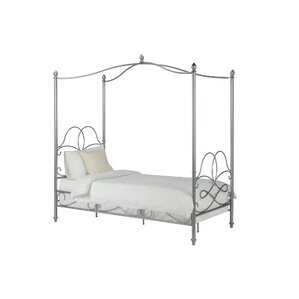 dianna twin canopy bed