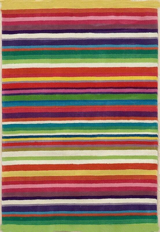 Ebern Designs Debord Hand Tufted Wool Green Red Rug Wayfair Co Uk