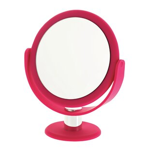 Find the perfect Soft Touch Round Vanity Mirror By Danielle Creations