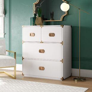Loren 4 Drawer Chest by DwellStudio