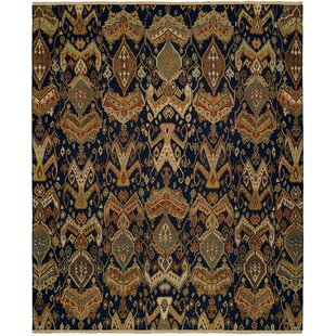 Best Choices Rabigh Hand-Woven Brown/Black Area Rug ByWildon Home ®