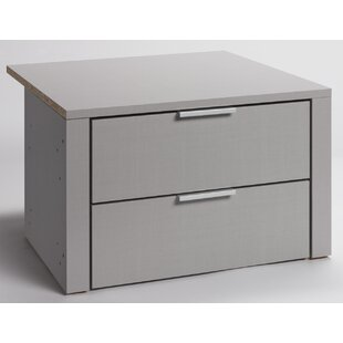 Catchings 2 Drawer Chest By Rebrilliant
