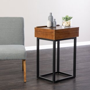 Latitude Run Belle End Table with Storage