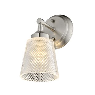 Galan 1-Light Bath Sconce by Charlton Home