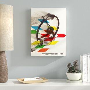 'Car 22' Graphic Art Print on Wrapped Canvas ByLatitude Run