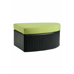 Mobilis Ottoman with Cushion by Tropitone