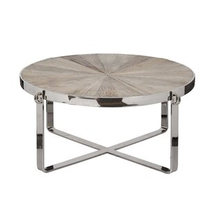 Kathleen Coffee Table by Rosecliff Heights Wonderful