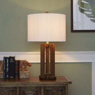 Wagoner Wood 28'' Table Lamp Base by Union Rustic