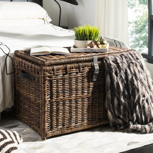 Altamont Wicker Storage Trunk by Highland Dunes