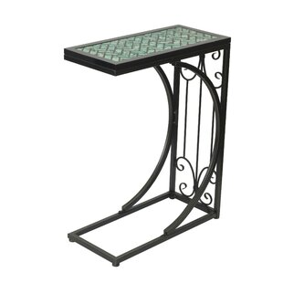 Wynne Mosaic Top End Table