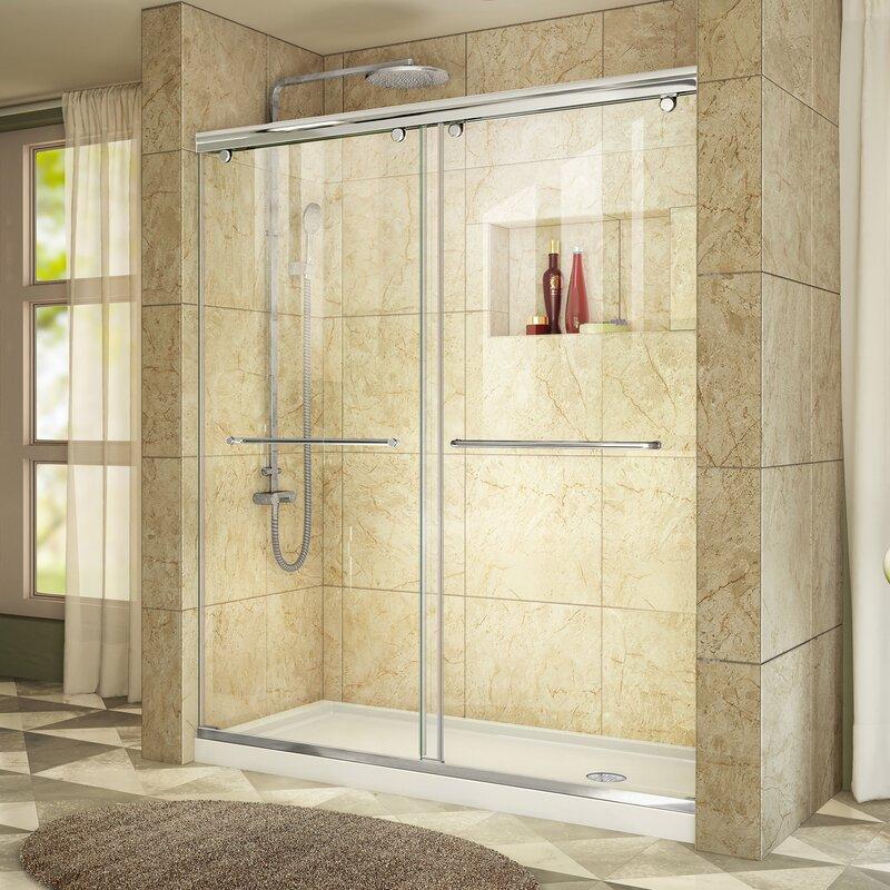 Dreamline Charisma 60 X 36 X 72 Sliding Frameless Shower Door