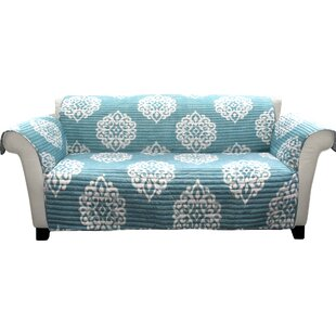Ring Box Cushion Sofa Slipcover by Winston Porter Today Only Sale