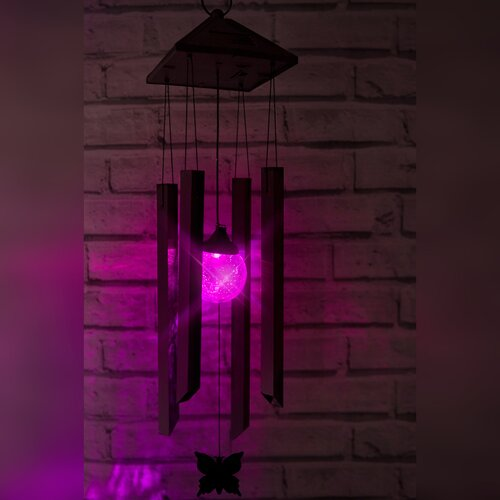 Colour Changing Solar Wind Chime OE Lights