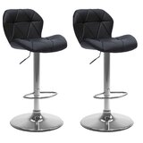 Desiree Adjustable Height Swivel Bar Stool (Set of 2) by Wade Logan®