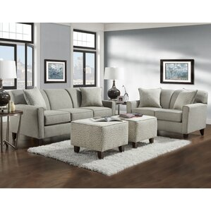 Holthaus 4 Piece Living Room Set by Latitude..