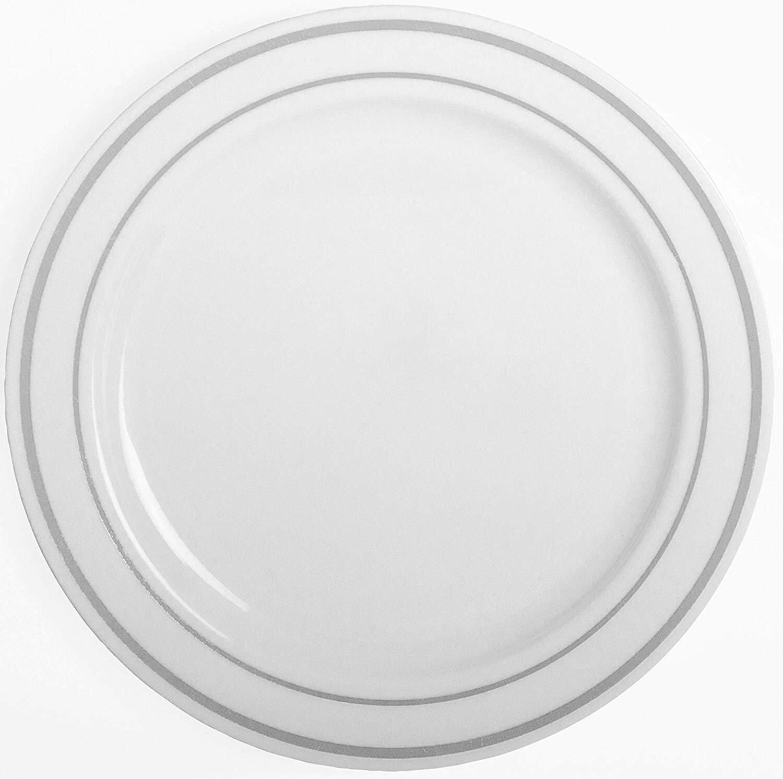 Party Joy Heavy Duty Premium Plastic Disposable Salad Plate Wayfair