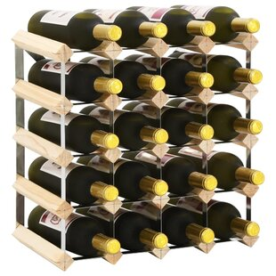 Cleo 20 Bottle Wall Mounted Wine Rack By Symple Stuff