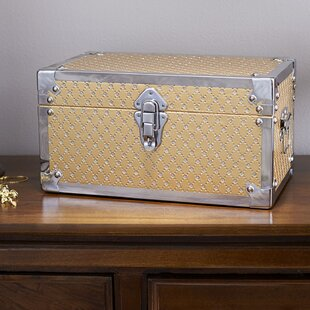 House of Hampton Vencimont Small Bling Decorative Storage Trunk