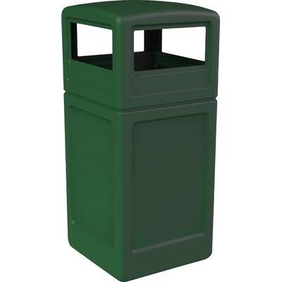 Keter Baltimore Plastic 39 Gallon Manual Lift Recycling Bin