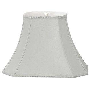 Best 32.5 Silk/Shantung Bell Lamp Shade By Alcott Hill