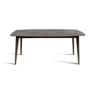 Bowerman Solid Wood Dining Table Union Rustic