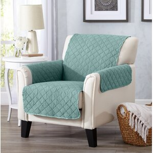 Great Bay Home T Cushion Loveseat Slipcover