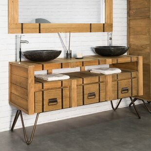 Almanza 160mm Free-standing Double Vanity Unit By Williston Forge