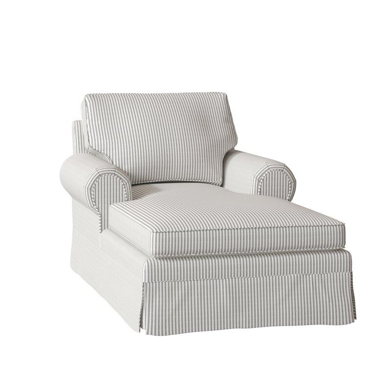 85767308eb Wayfair Custom Upholstery™ Lily Chaise Lounge & Reviews   Wayfair