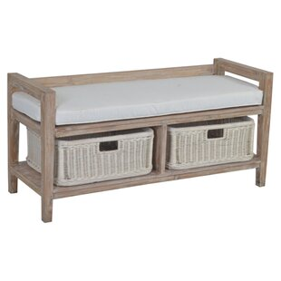 Jeffan Levinson Wood Storage Bench