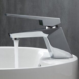 Kube Bath Aqua Siza Single Lever Modern Bathroom Faucet