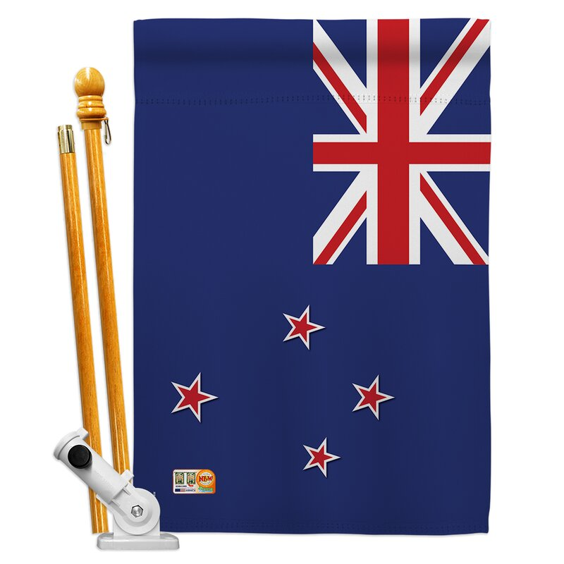 Breeze Decor New Zealand Flags Of The
