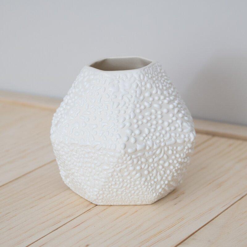 Clarke Collective Geometric Short Bud Vase Wayfair