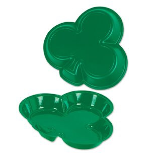 Forbis Shamrock Plastic Serving Tray (Set of 24)