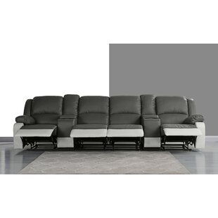 4 Seat Home Theater Sofa w..