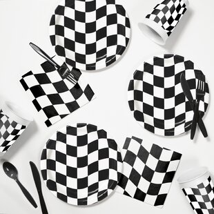 Race Day Tableware Set