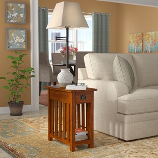 Great Price Apple Valley End Table By Charlton Home